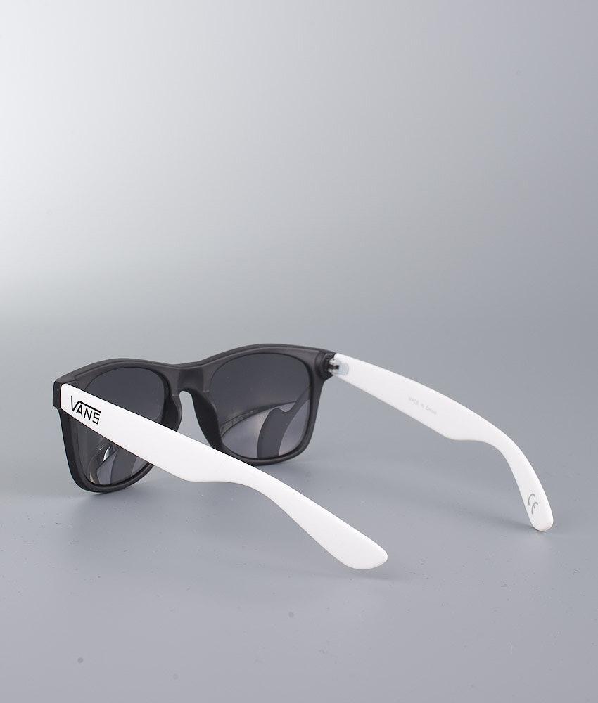 c1e3d79262a Vans Spicoli 4 Shades Unisex Sunglasses Black-White - Ridestore.com