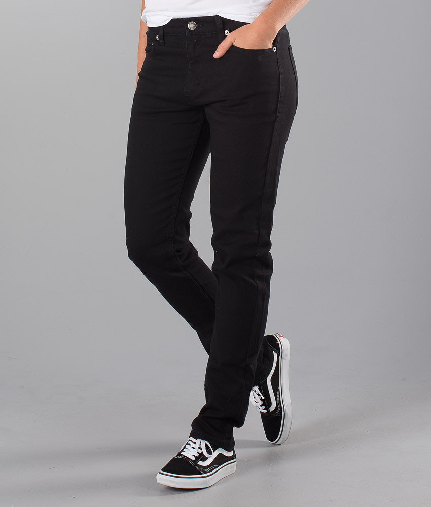 Sweet SKTBS Sweet Slim Colored  Unisex Pantalon Black