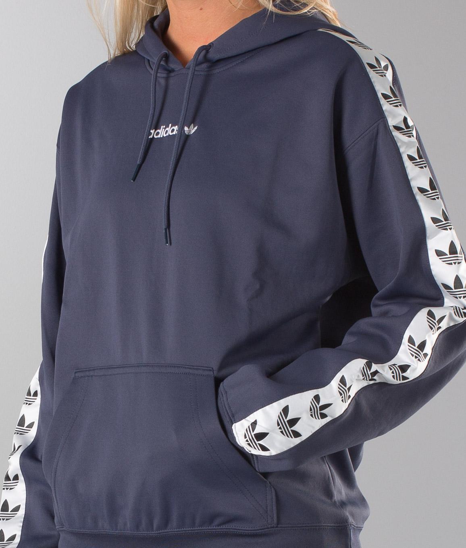 Adidas Originals Tnt Tape Unisex Hoodie TrabluWhite