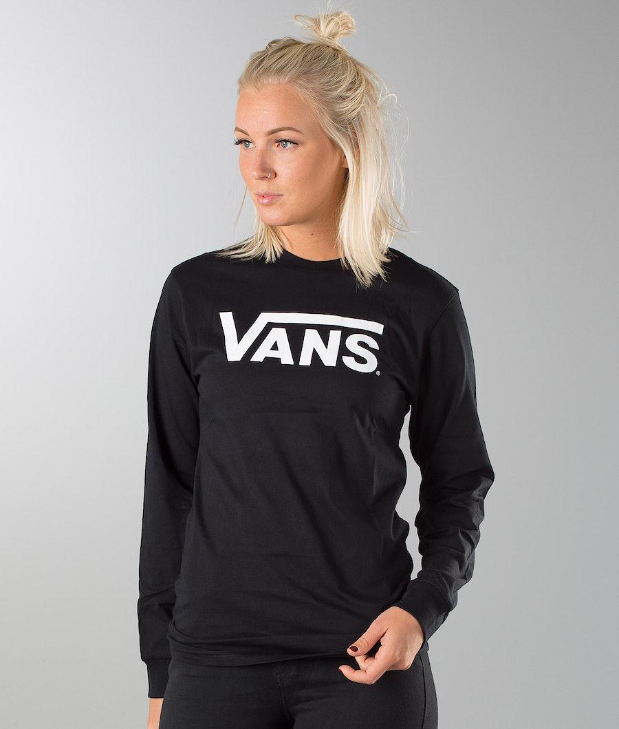 Vans Vans Classic Unisex Longsleeve Black/White