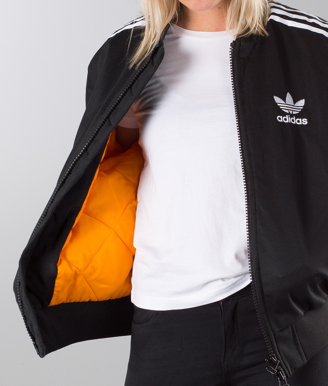 33b0a9844102 Adidas Originals Ma1 Padded Mate Unisex Jacket Black - Ridestore.com