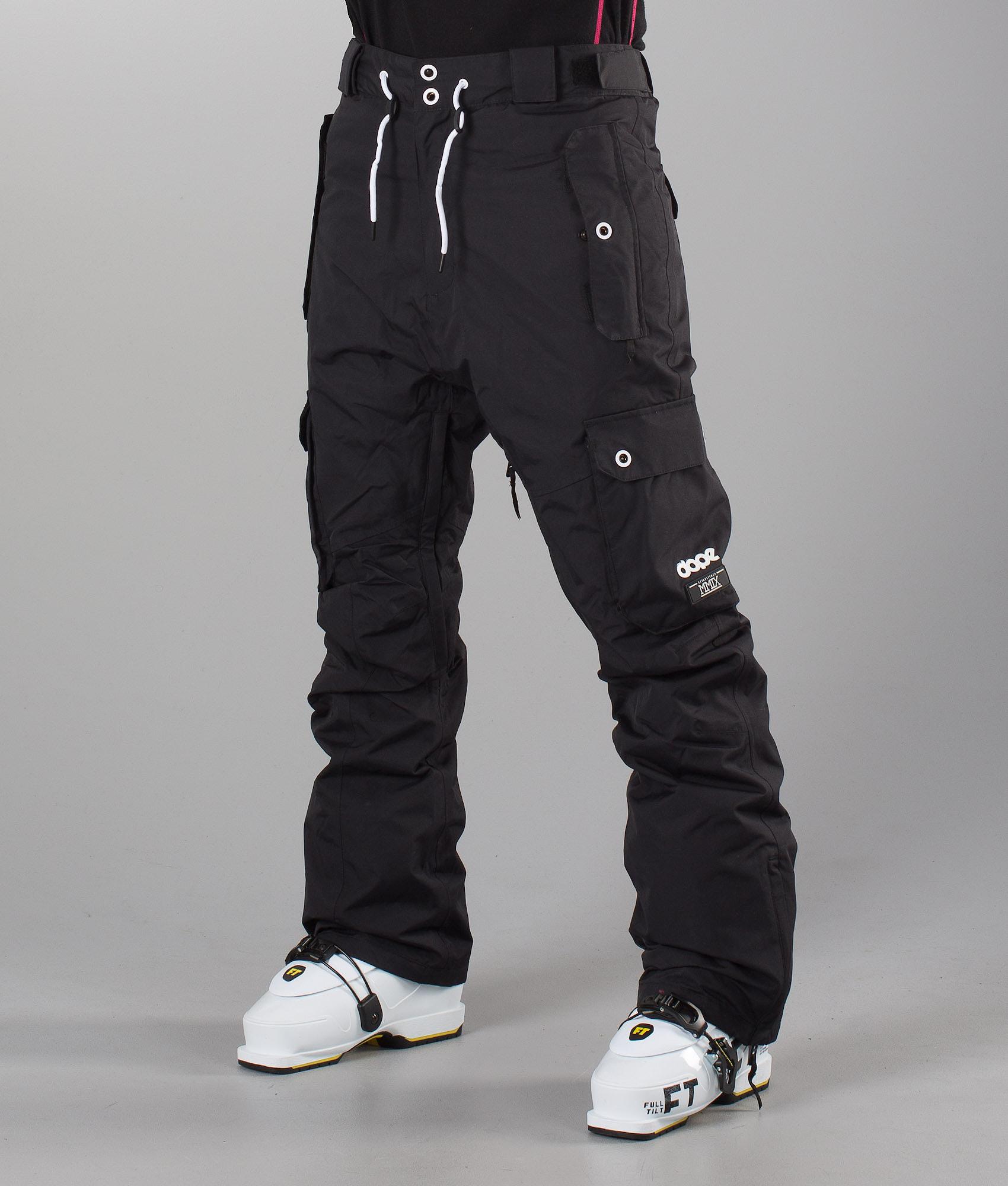 6f54b4f657 Dope Adept Unisex Ski Pants Black - Ridestore.com