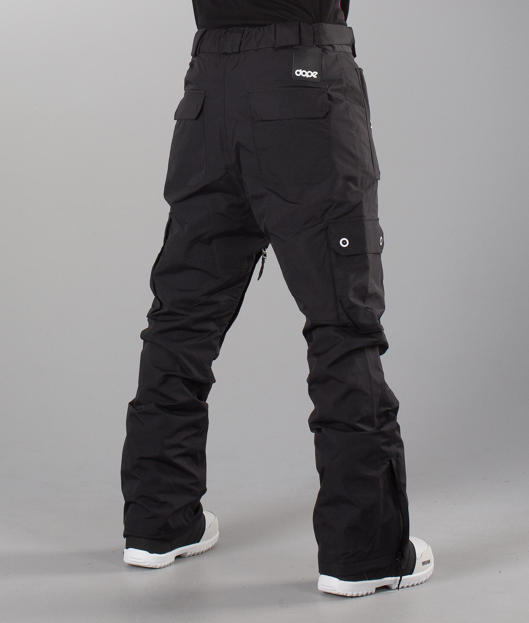 ba003ee8ef Dope Adept Unisex Snow Pants Black - Ridestore.com