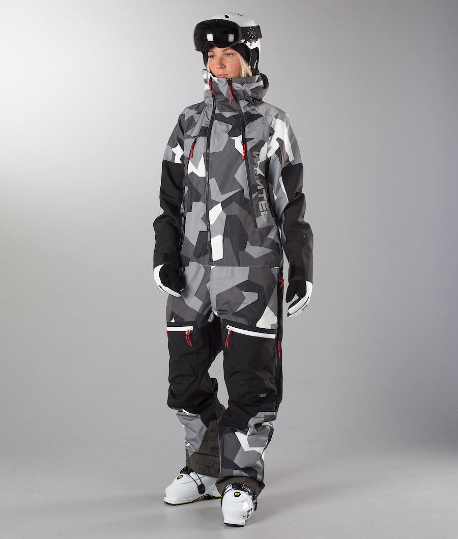 Montec Next 20K Ski Unisex Monosuit Artic-Camo