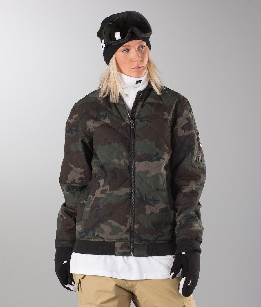 Dope Bomber Unisex Jacket Wood-Camo