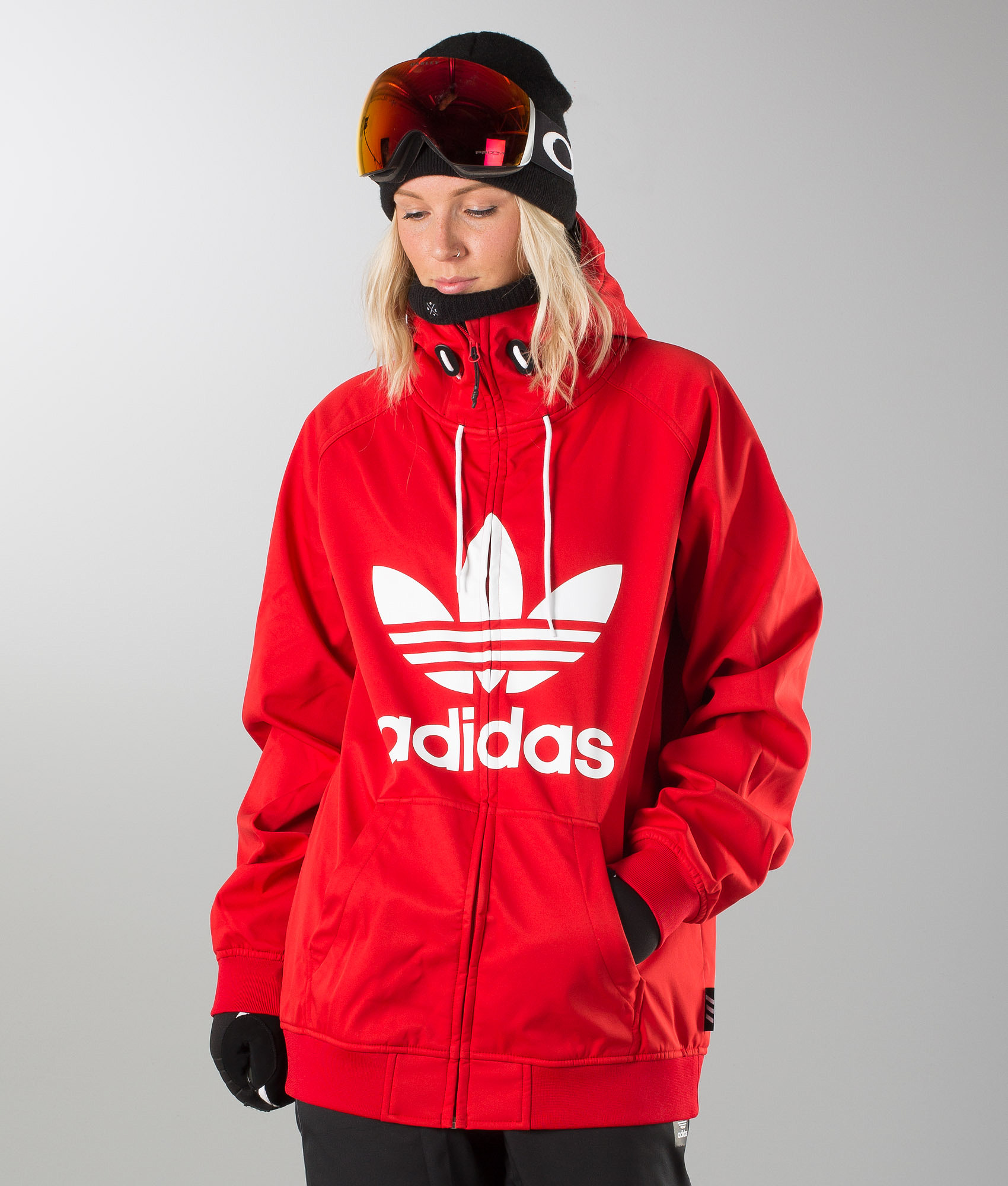 Adidas Snowboarding Greeley Unisex Snowboardjacke Scarlet White ... a8bea08fd2