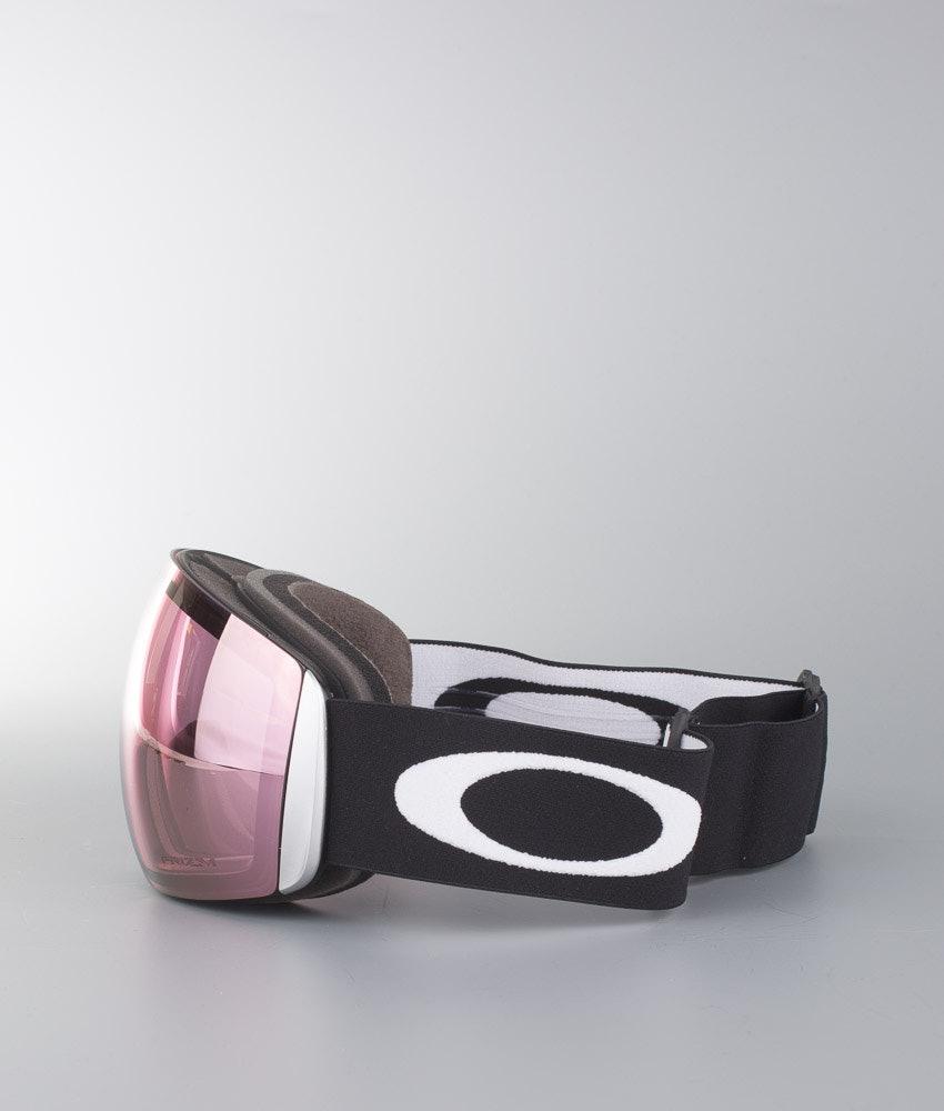 Oakley Flight Deck L Skidglasögon Matte Black With Prizm Snow Hi Pink Lens