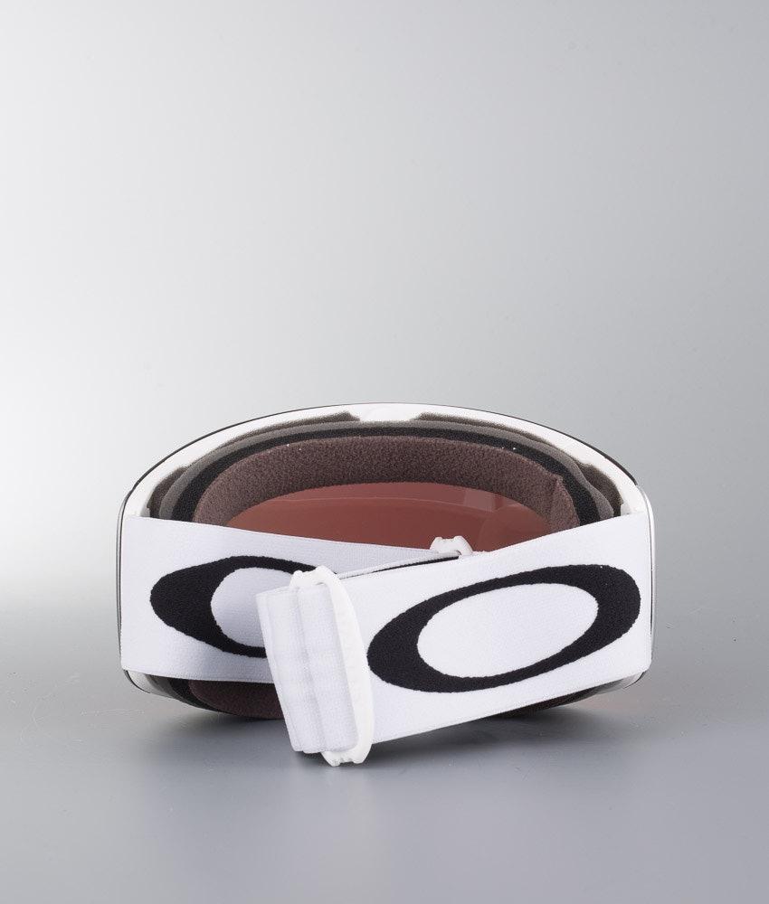 Oakley Flight Deck L Skidglasögon Matte White With Prizm Snow Torch Iridium Lens