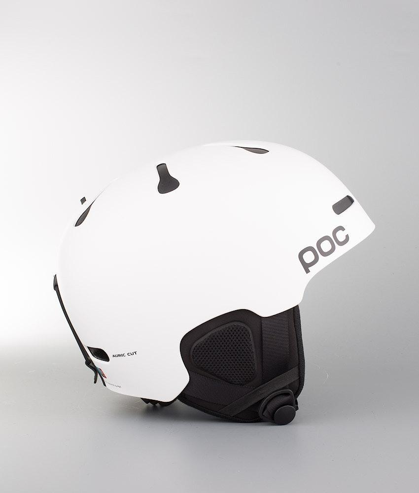 Poc Auric Cut Ski Helmet Matt White