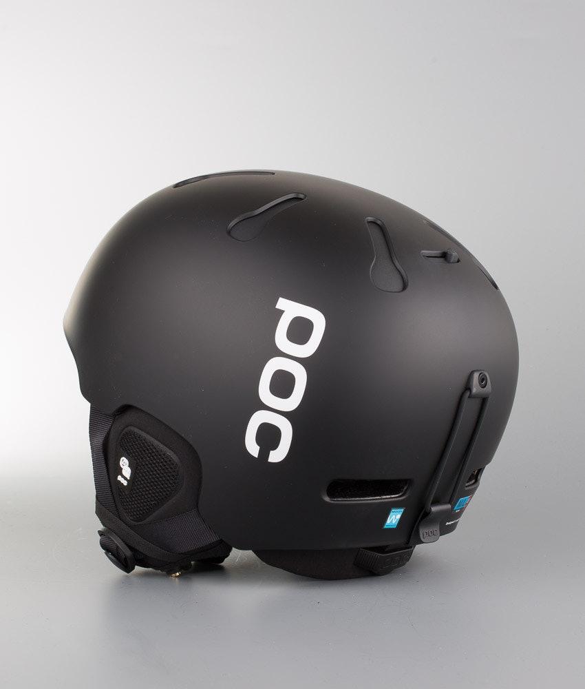 Poc Auric Cut Communication Ski Helmet Matt Black