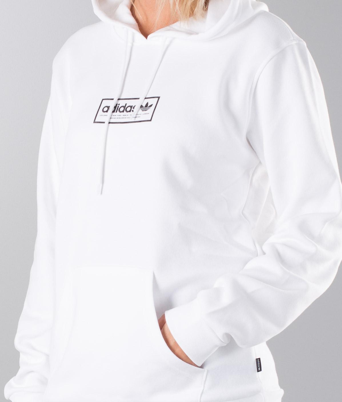 Adidas Skateboarding Spell Out Hd Unisex Hoodie WhiteBlack