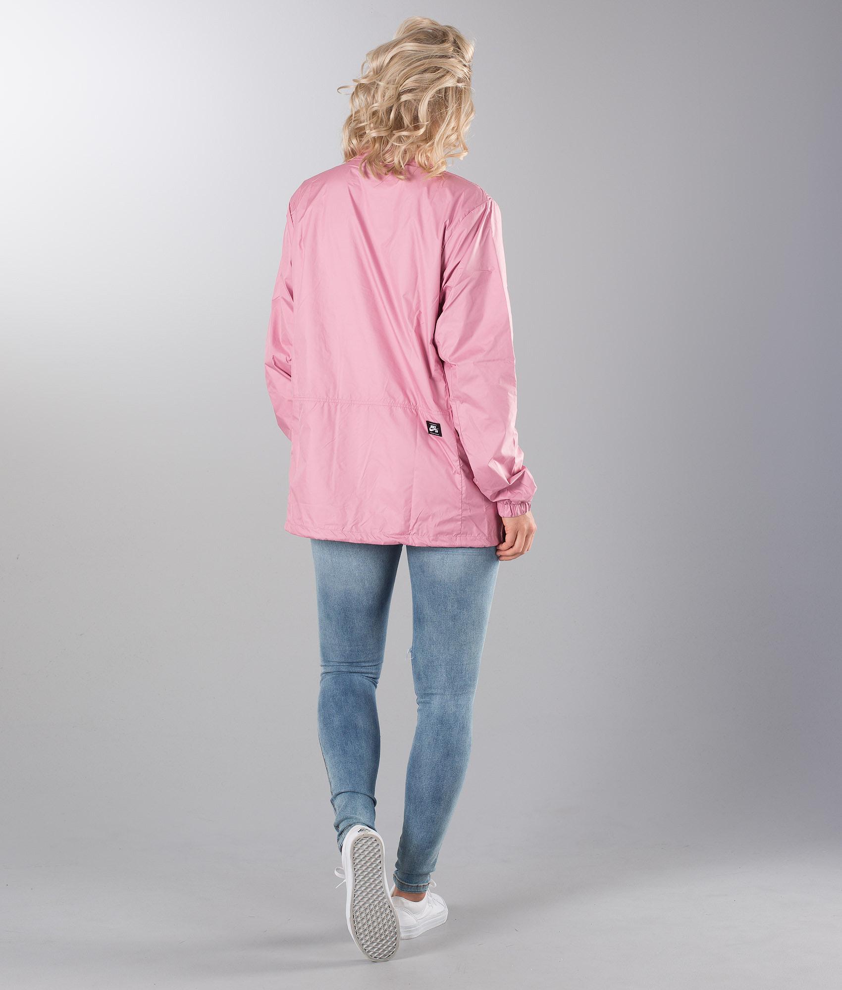 Nike M Nk Sb Shld Jkt Coaches Unisex Jacket Elemental Pink White ... 73b2f6f4c