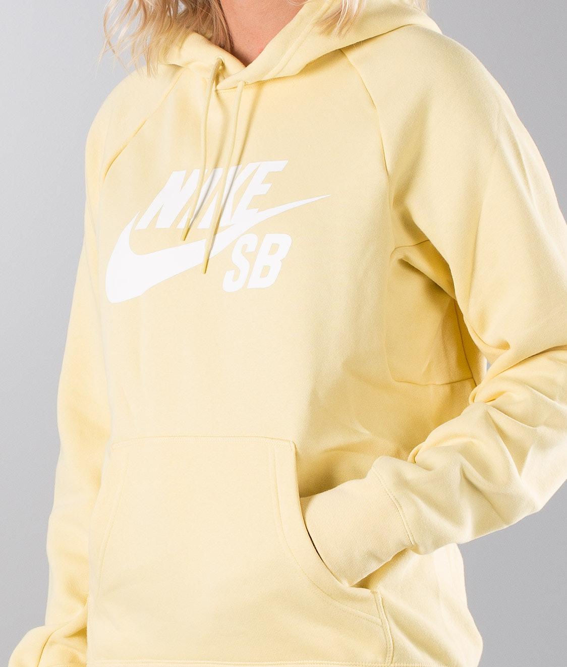 Nike Sb Icon Unisex Hood Lemon Wash White - Ridestore.com 7ab7ad1879