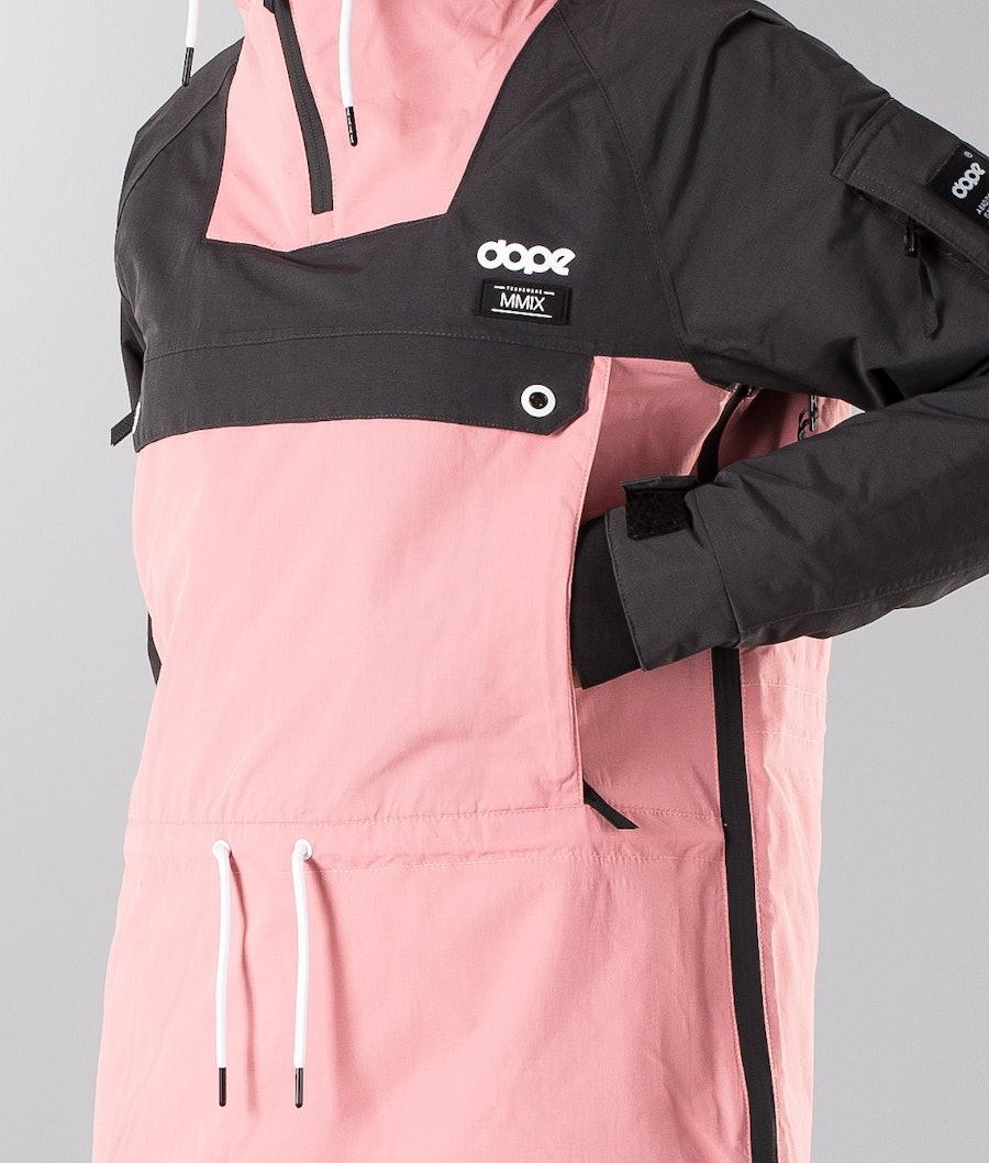 Dope Annok W 18 Renewed Women's Snowboard Jacket Dark Grey/Pink