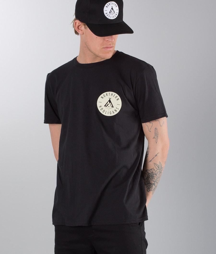 Northern Hooligans Urban Campers T-shirt Black