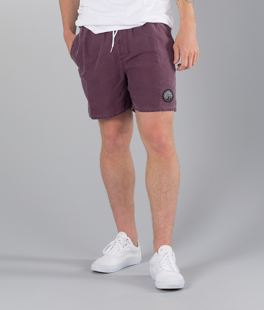 Dope Gaze Street Shorts Burgundy