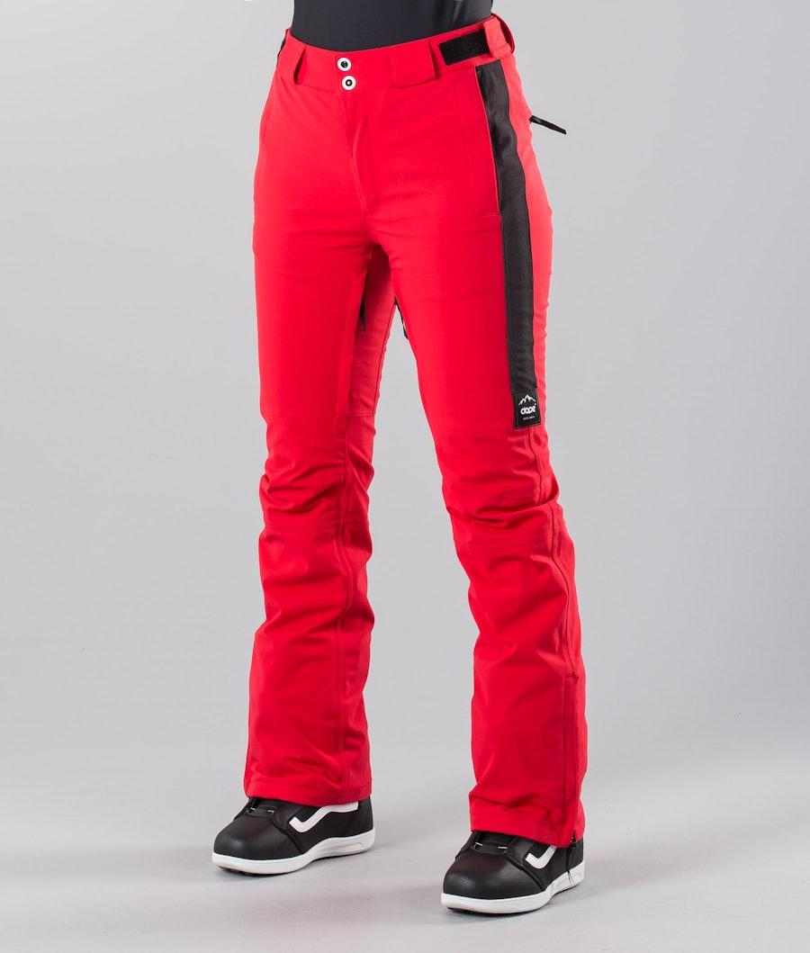 Dope Con 18 Pantalon de Snowboard Red