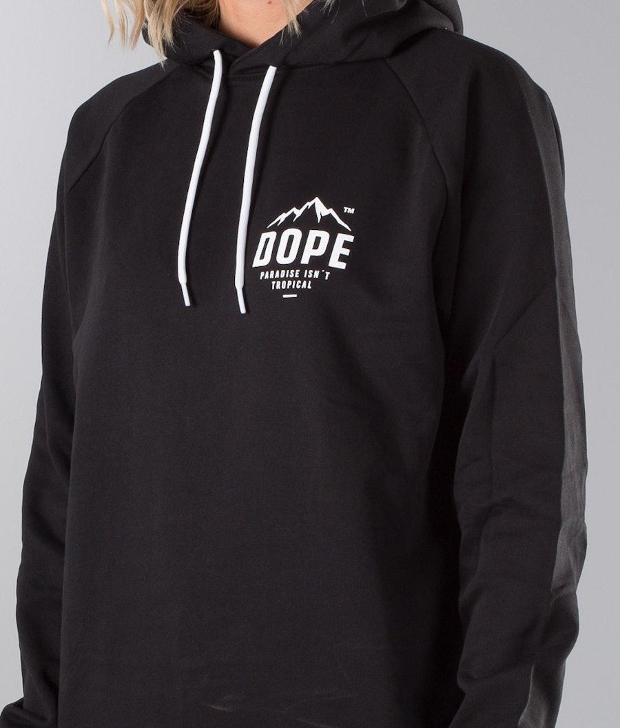Dope Paradise II Unisex Hood Dam Black