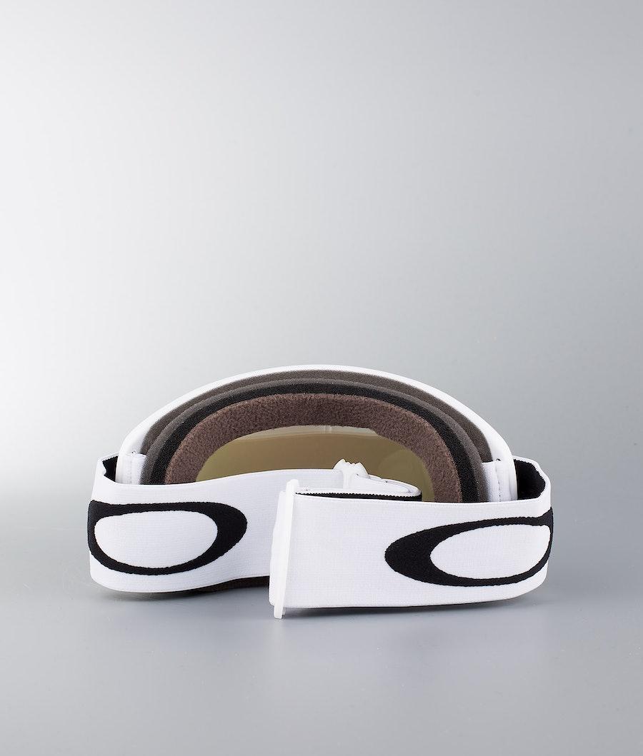 Oakley O Frame 2.0 XL Skibrille Matte White W/Violet Iridium