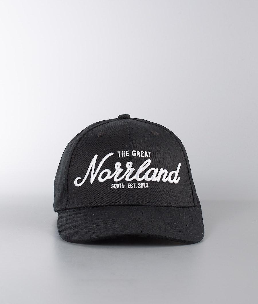 SQRTN Great Norrland Hooked Keps Black