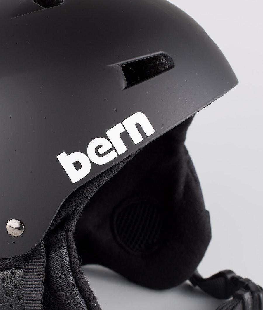 Bern Macon Dope Classic Eps Boa Ski Helmet Matt Black