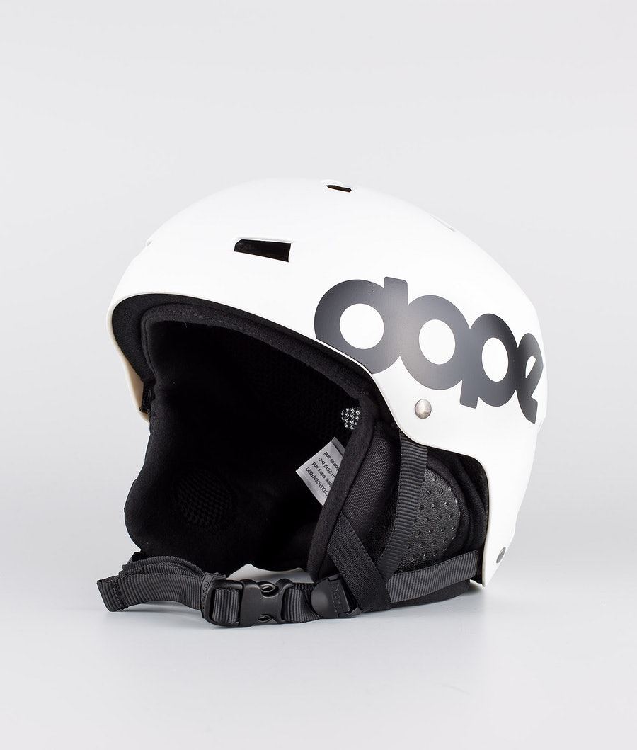 Bern Macon Dope Classic Eps Boa Ski Helmet Matt White