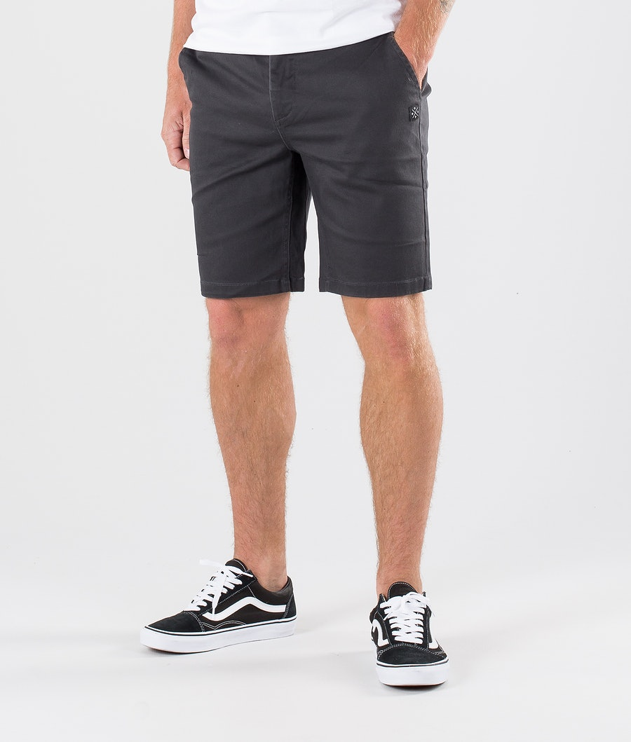 Dope Valdez Shorts Dark Grey