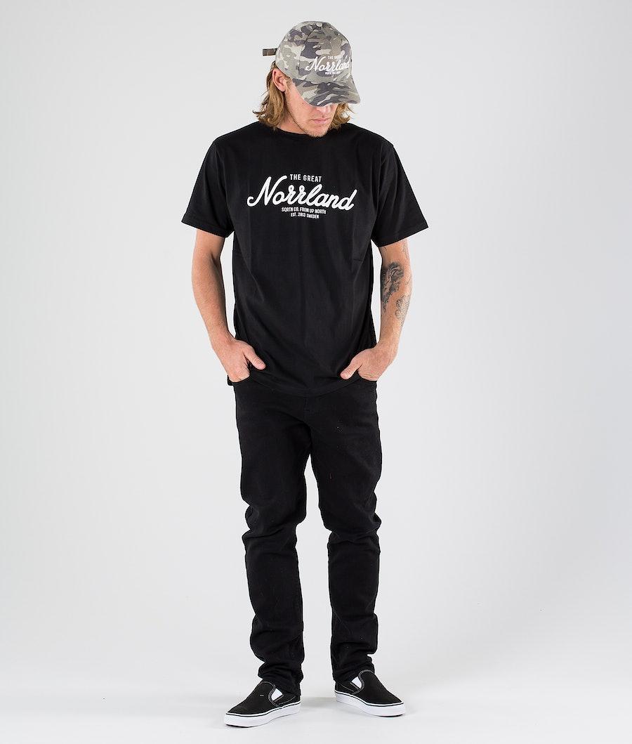 SQRTN Great Norrland T-shirt Black