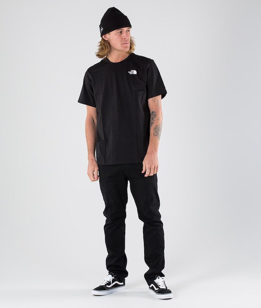 The North Face Redbox T-shirt Tnf Black