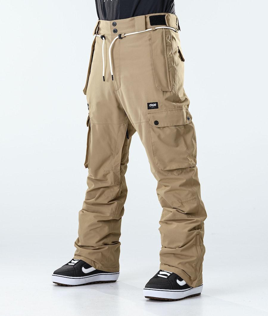 Iconic Snowboard Pants Men Khaki
