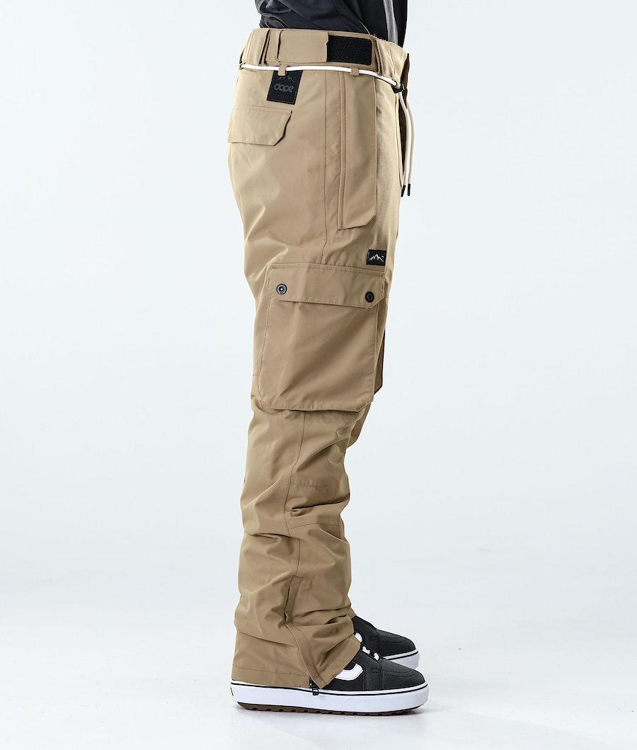 Dope Iconic Snowboard Pants Khaki