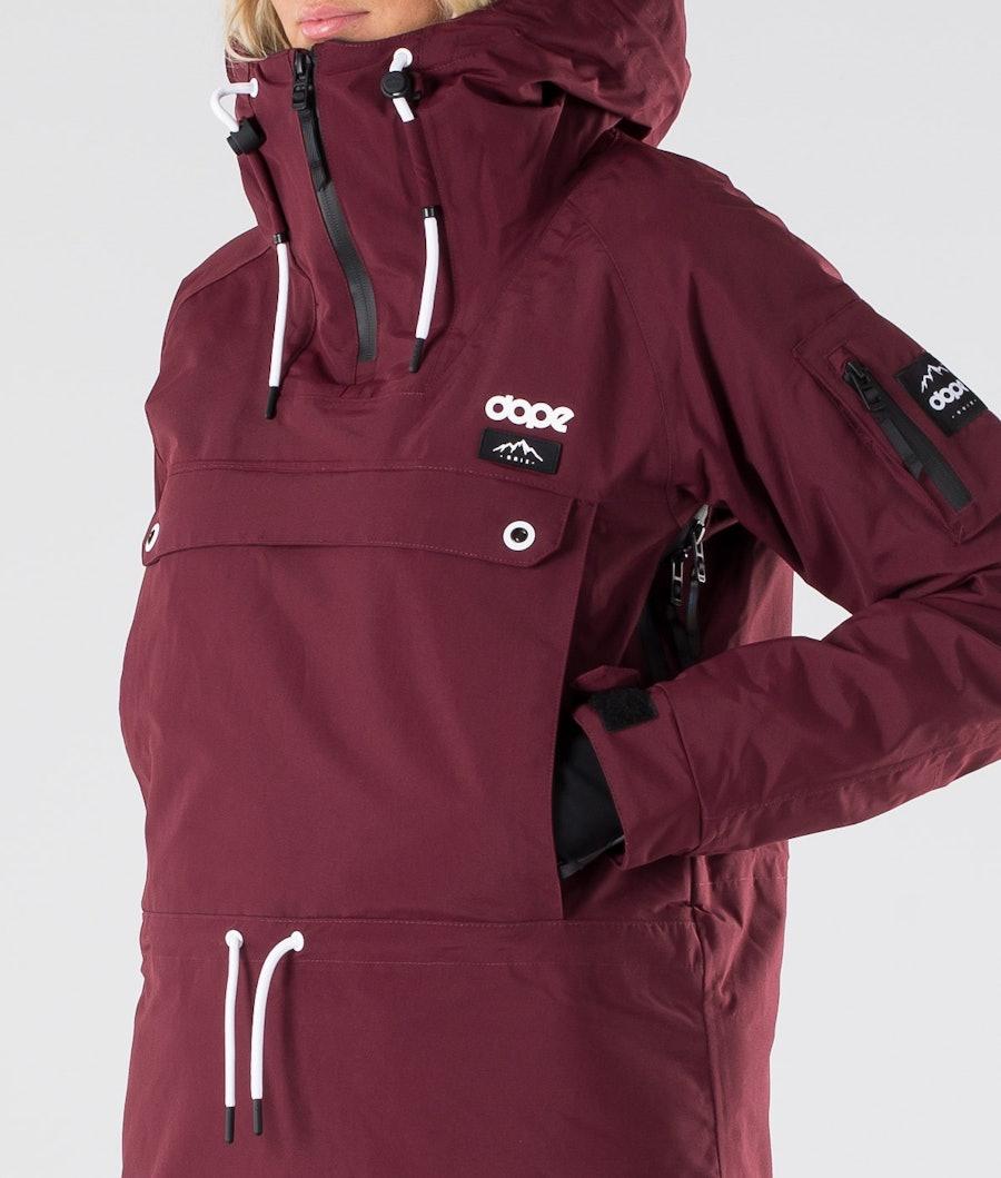 Dope Annok W Women's Snowboard Jacket Burgundy