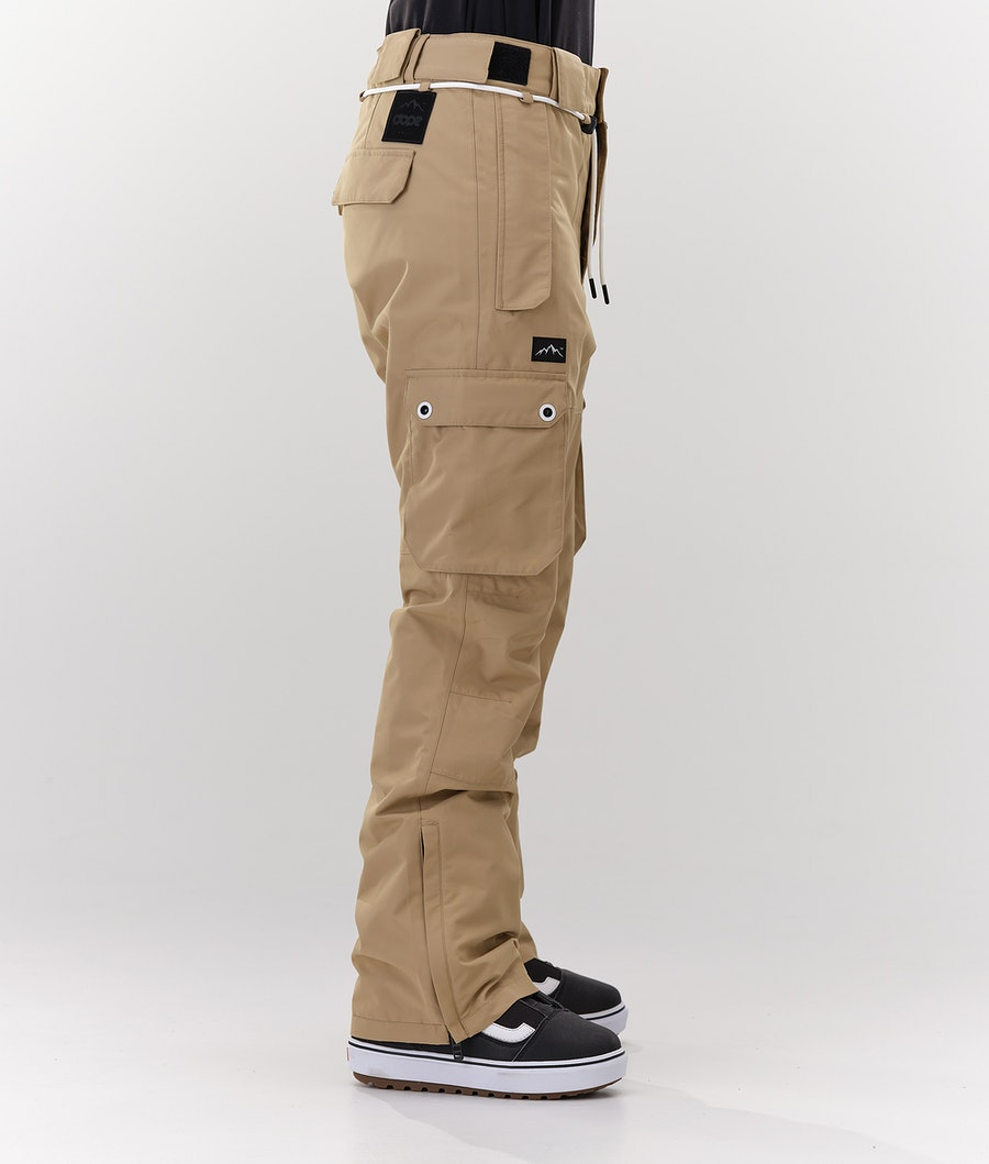 Dope Iconic W Women's Snowboard Pants Khaki