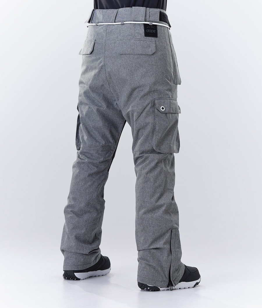 Dope Iconic W Women's Snowboard Pants Grey Melange
