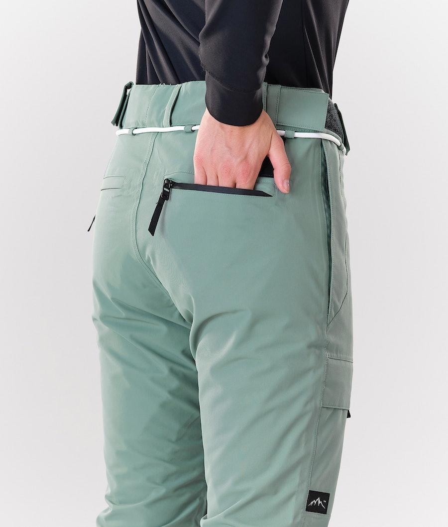 Dope Grace Women's Snowboard Pants Faded Green