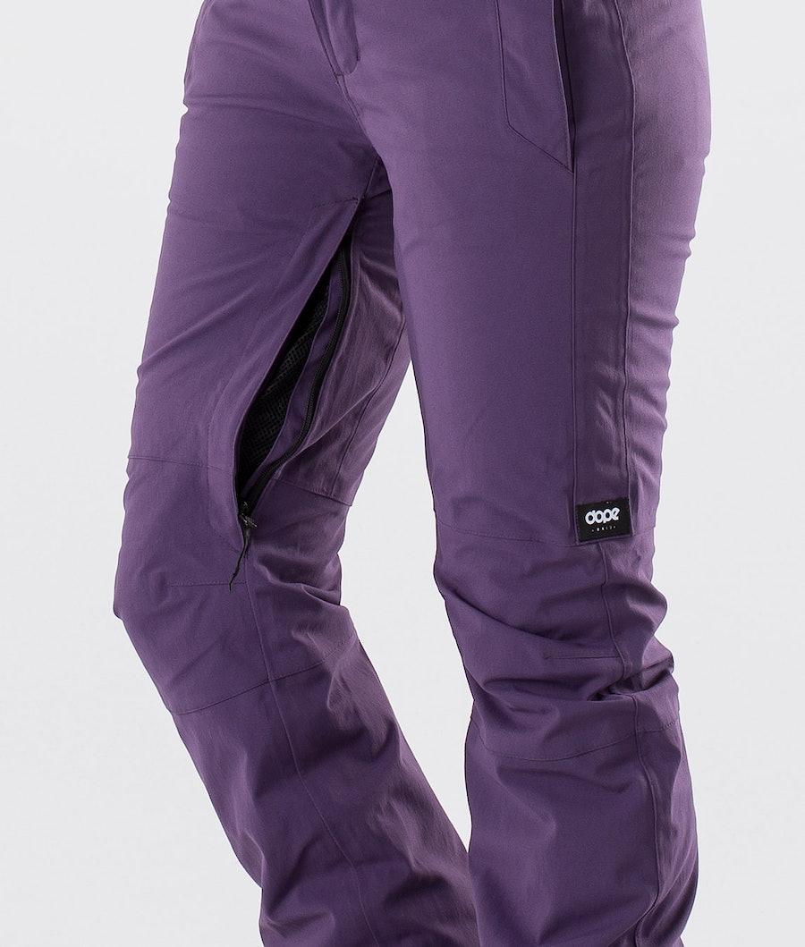 Dope Con Women's Snowboard Pants Grape