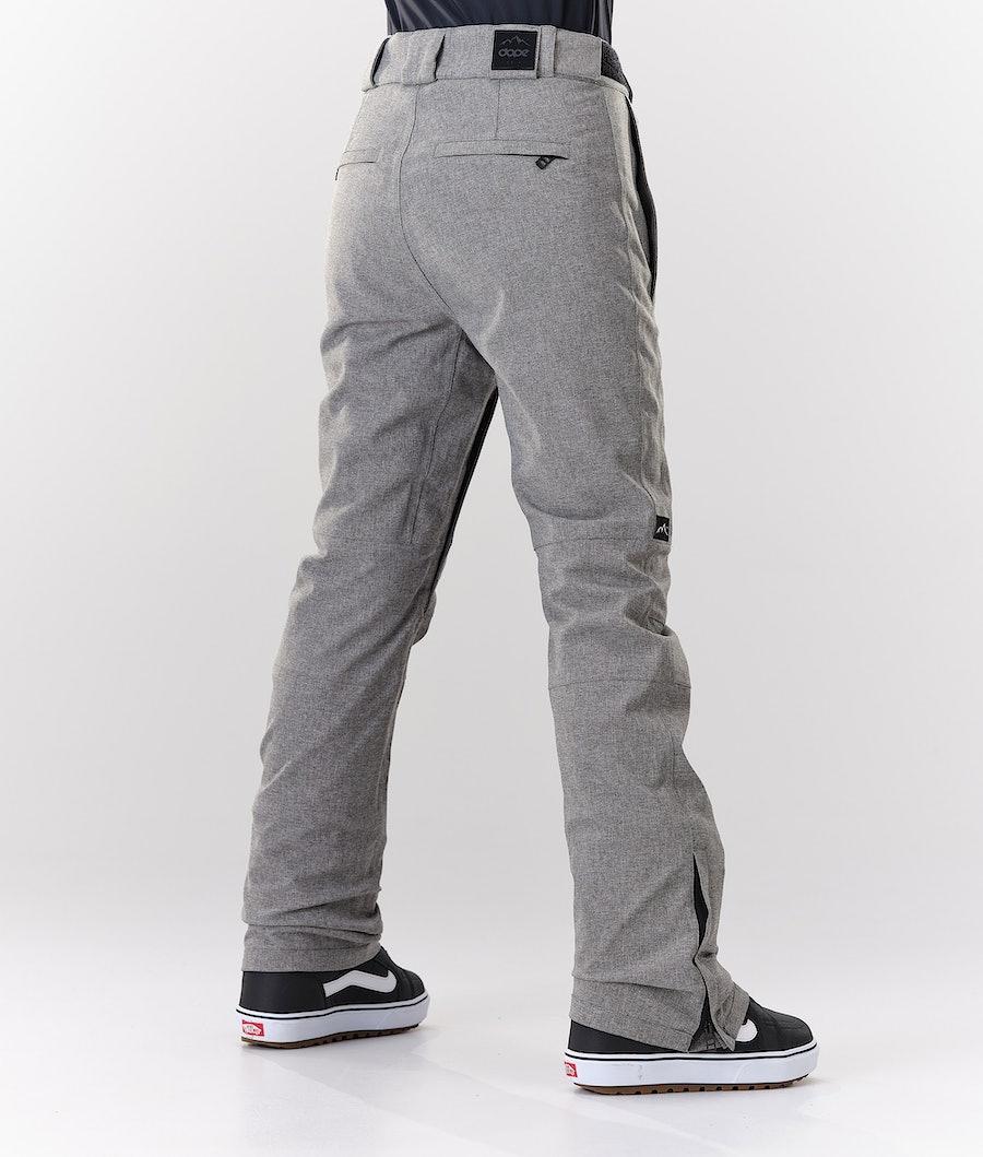 Dope Con Women's Snowboard Pants Grey Melange