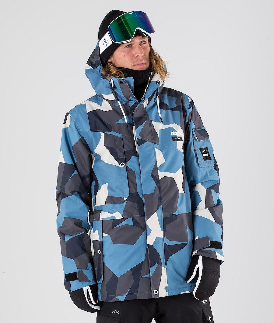 Dope Adept Giacca Snowboard Blue Camo