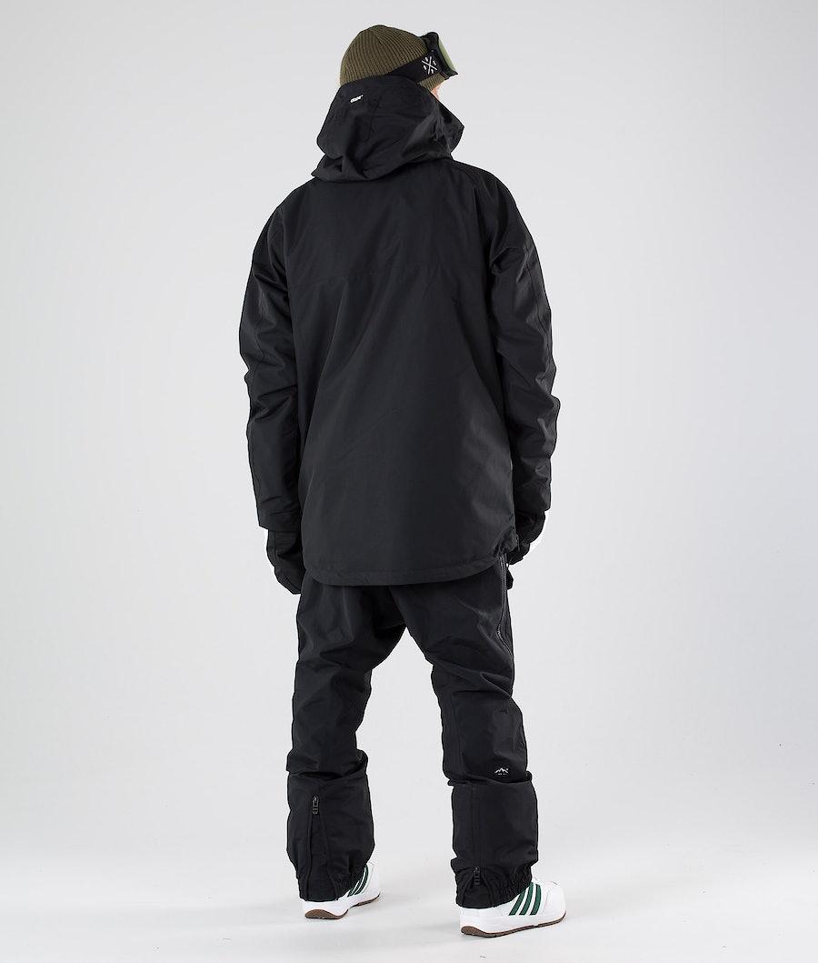 Dope Akin Snowboard Jacket Black