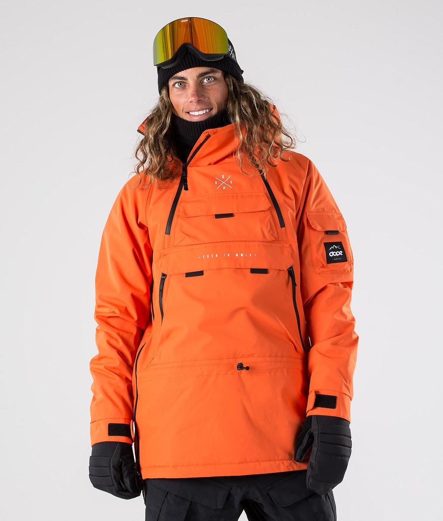 Akin Snowboard Jacket Men Orange