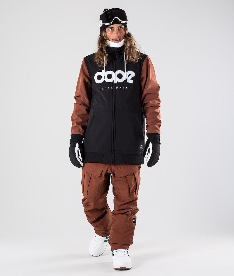 Dope Standard DO Snowboard Jacket Black/Adobe