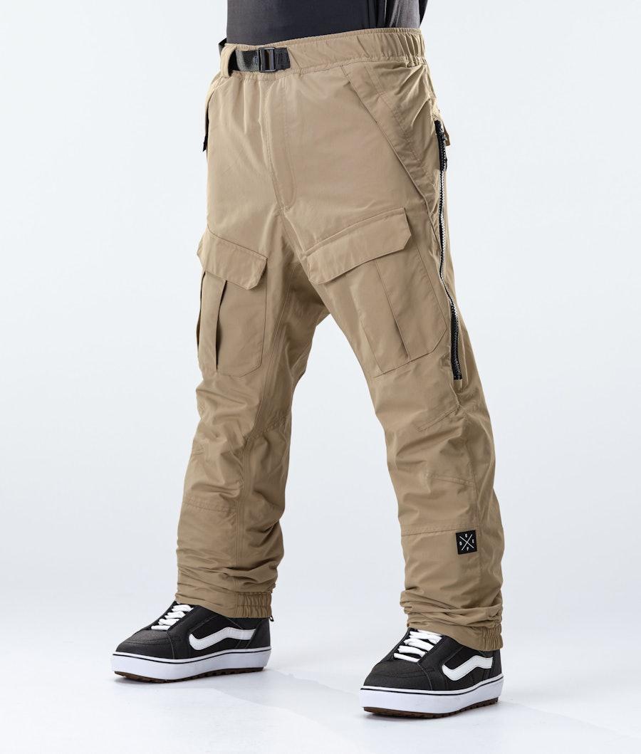 Antek Snowboard Pants Men Khaki