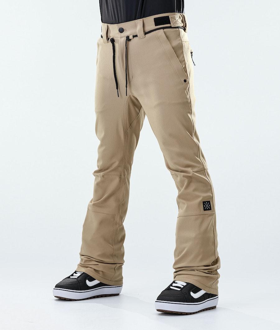 Tiger Snowboard Pants Men Khaki