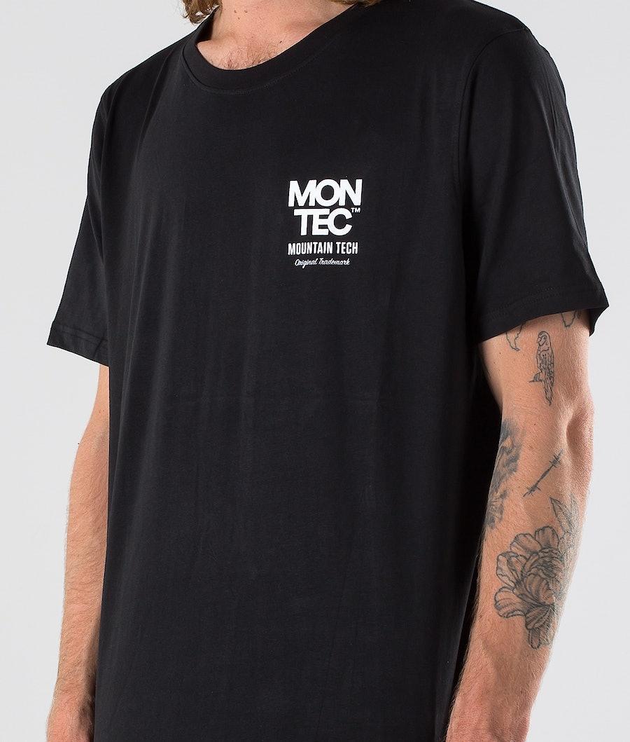 Montec M-Tech T-shirt Black