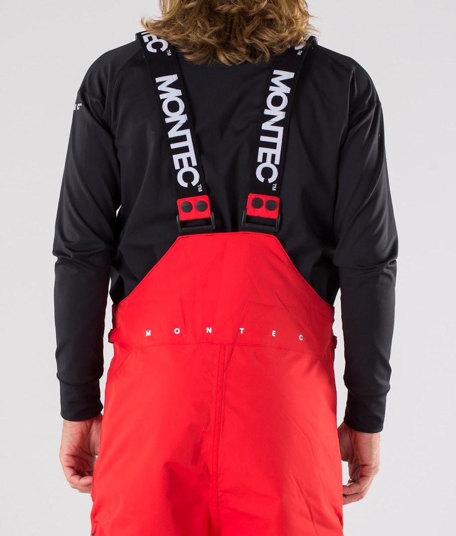 Montec Fawk Snowboard Pants Red