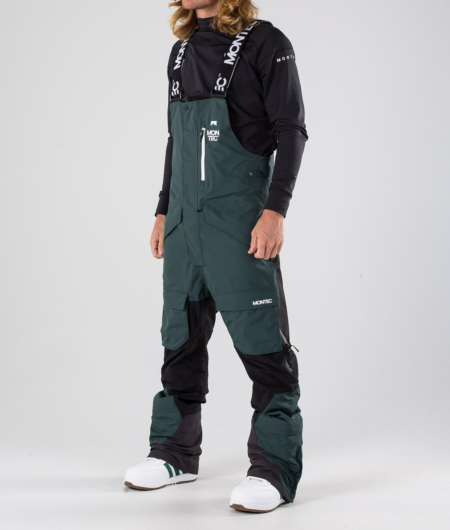 Montec Fawk Pantaloni Snowboard Dark Atlantic/Black