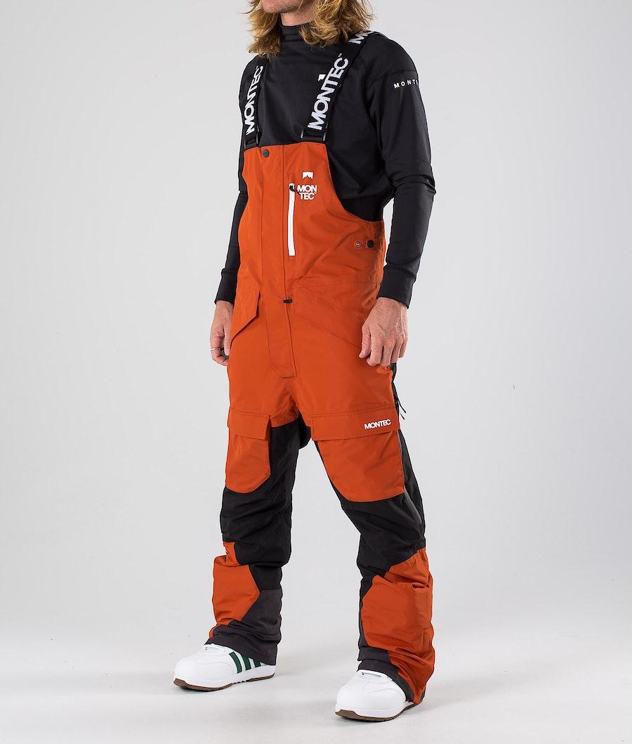 Montec Fawk Pantaloni Snowboard Clay/Black