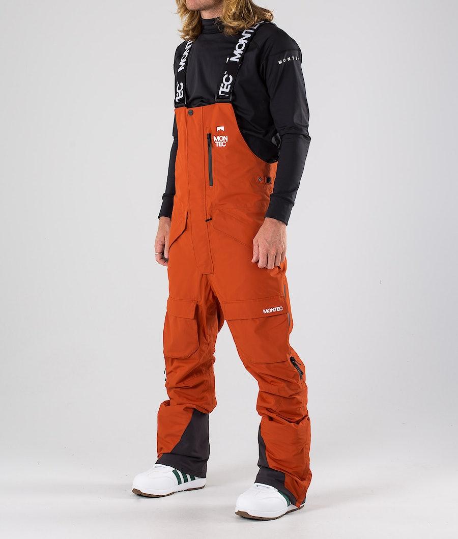 Montec Fawk Pantaloni Snowboard Clay