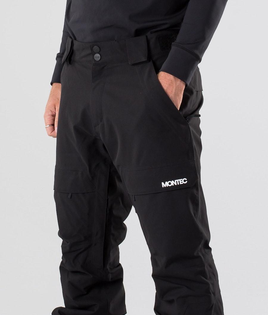 Montec Dune Snowboard Pants Black