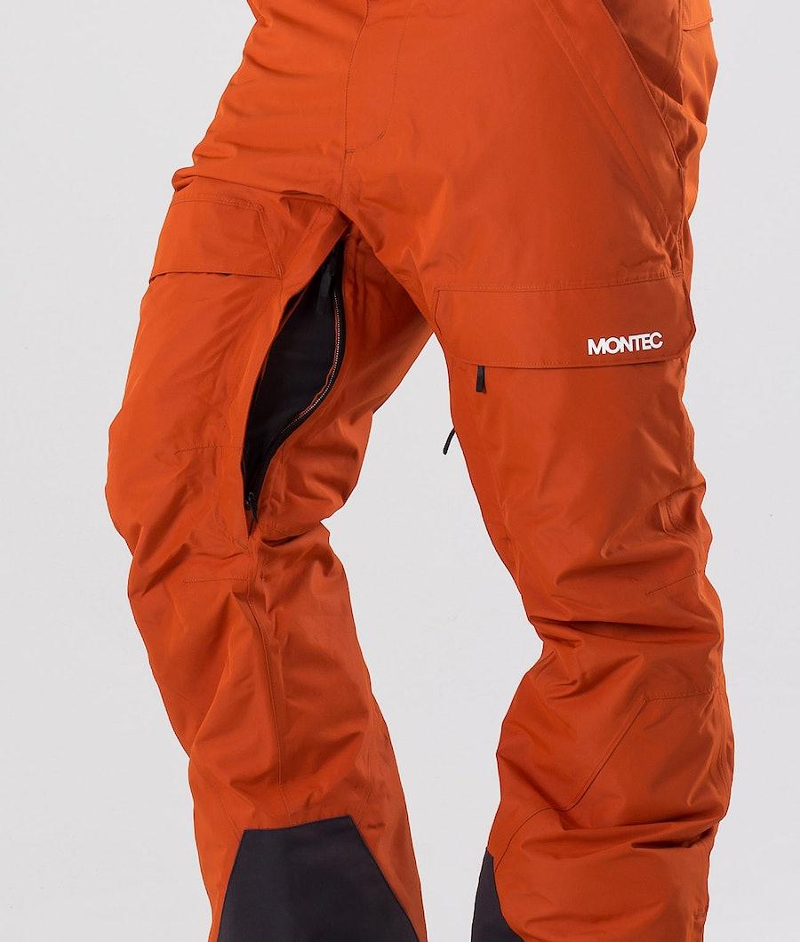Montec Dune Snowboard Pants Clay